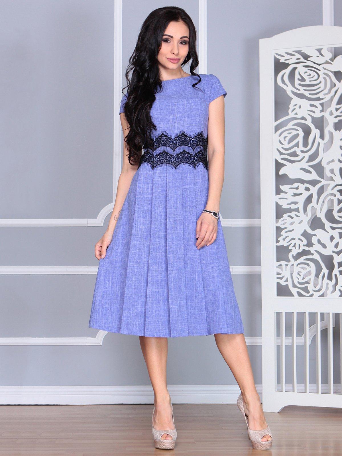 Платье фиолетовое | 4068473