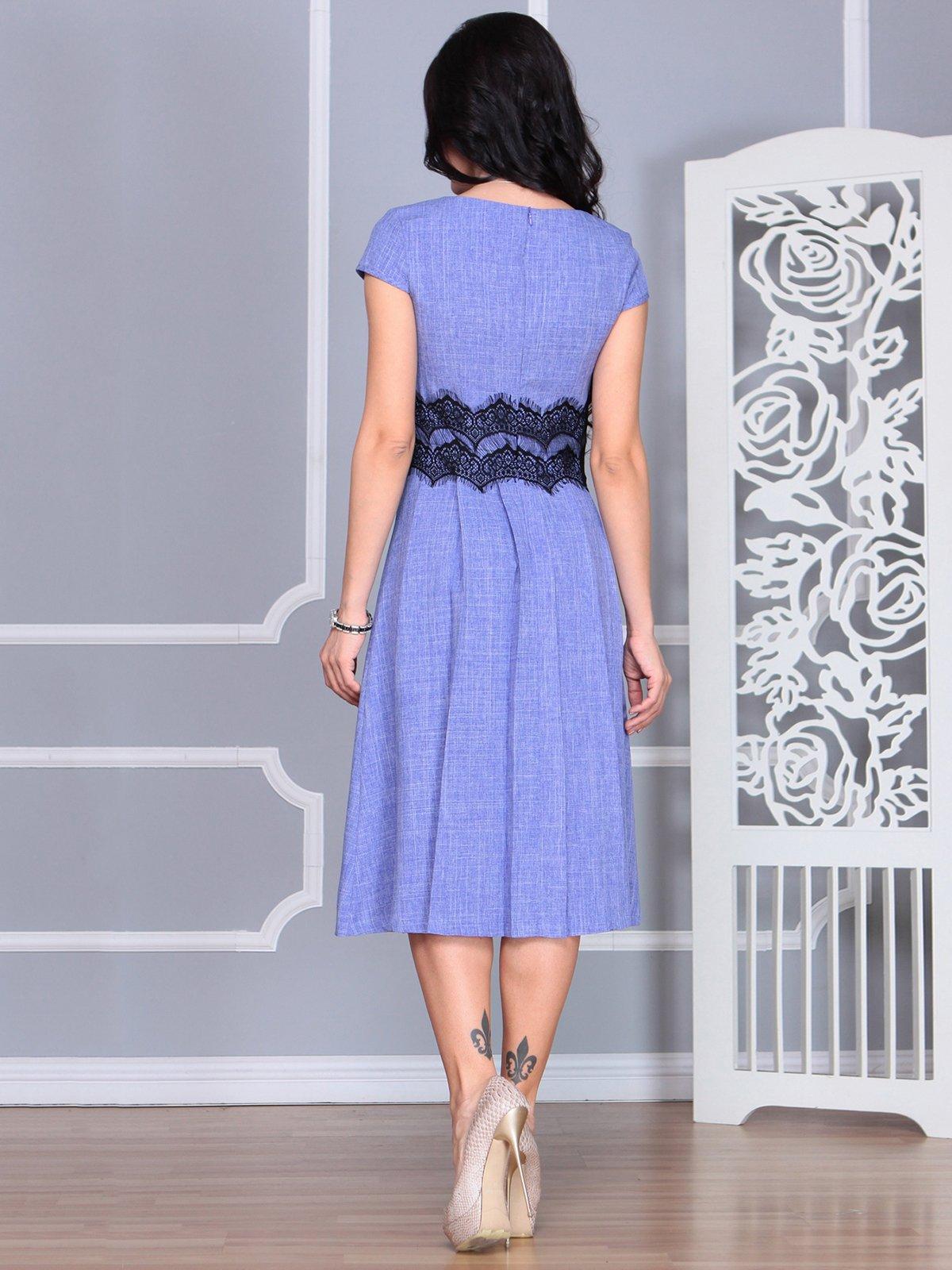 Платье фиолетовое | 4068473 | фото 2