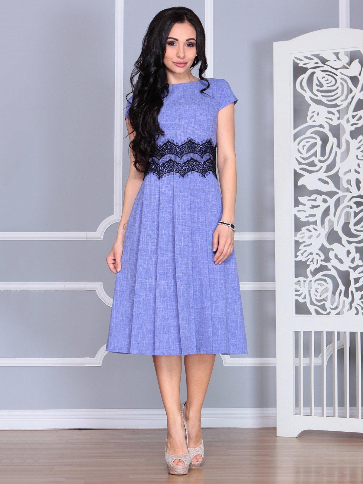 Платье фиолетовое | 4068473 | фото 3