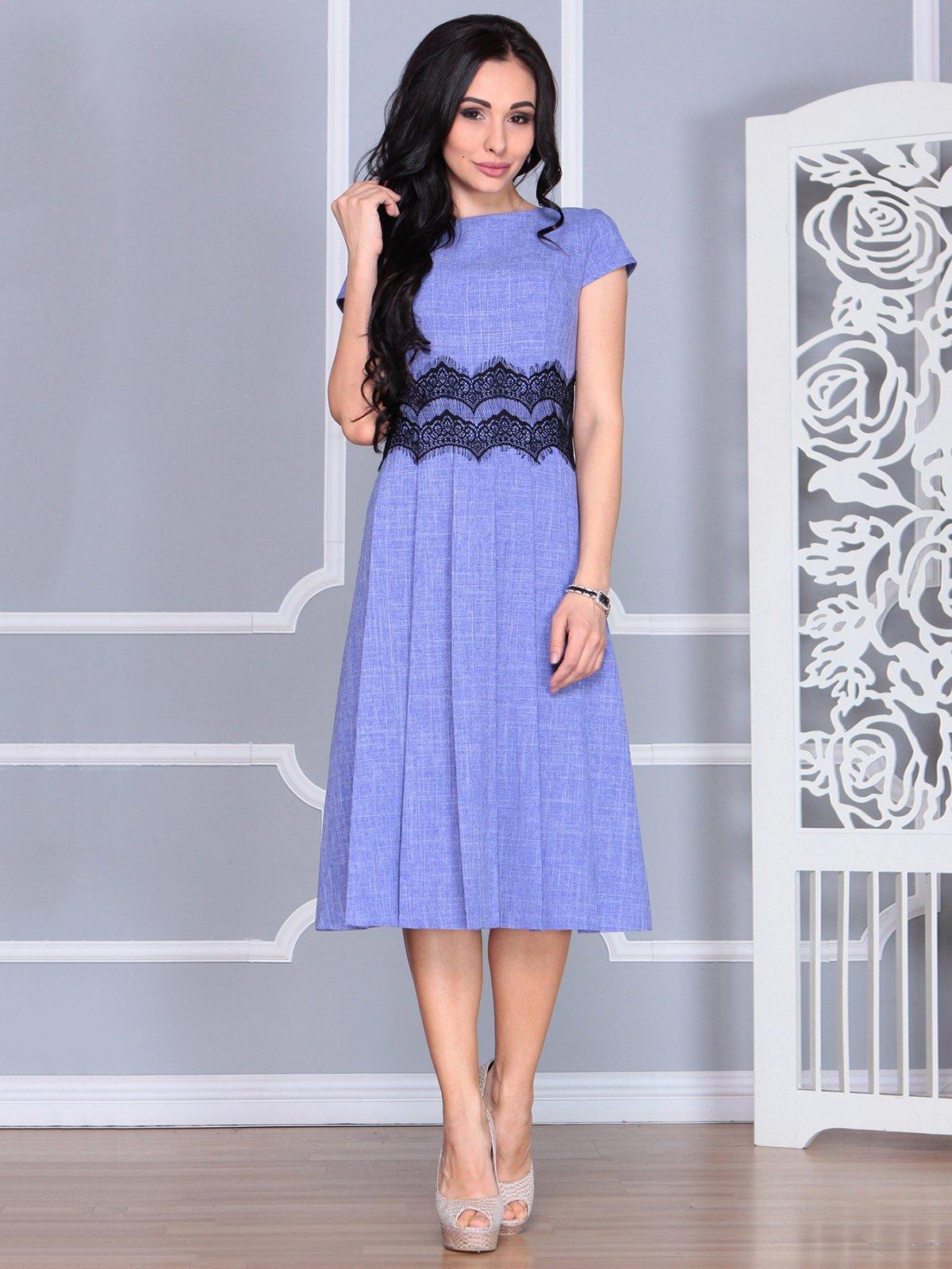 Платье фиолетовое | 4068473 | фото 5