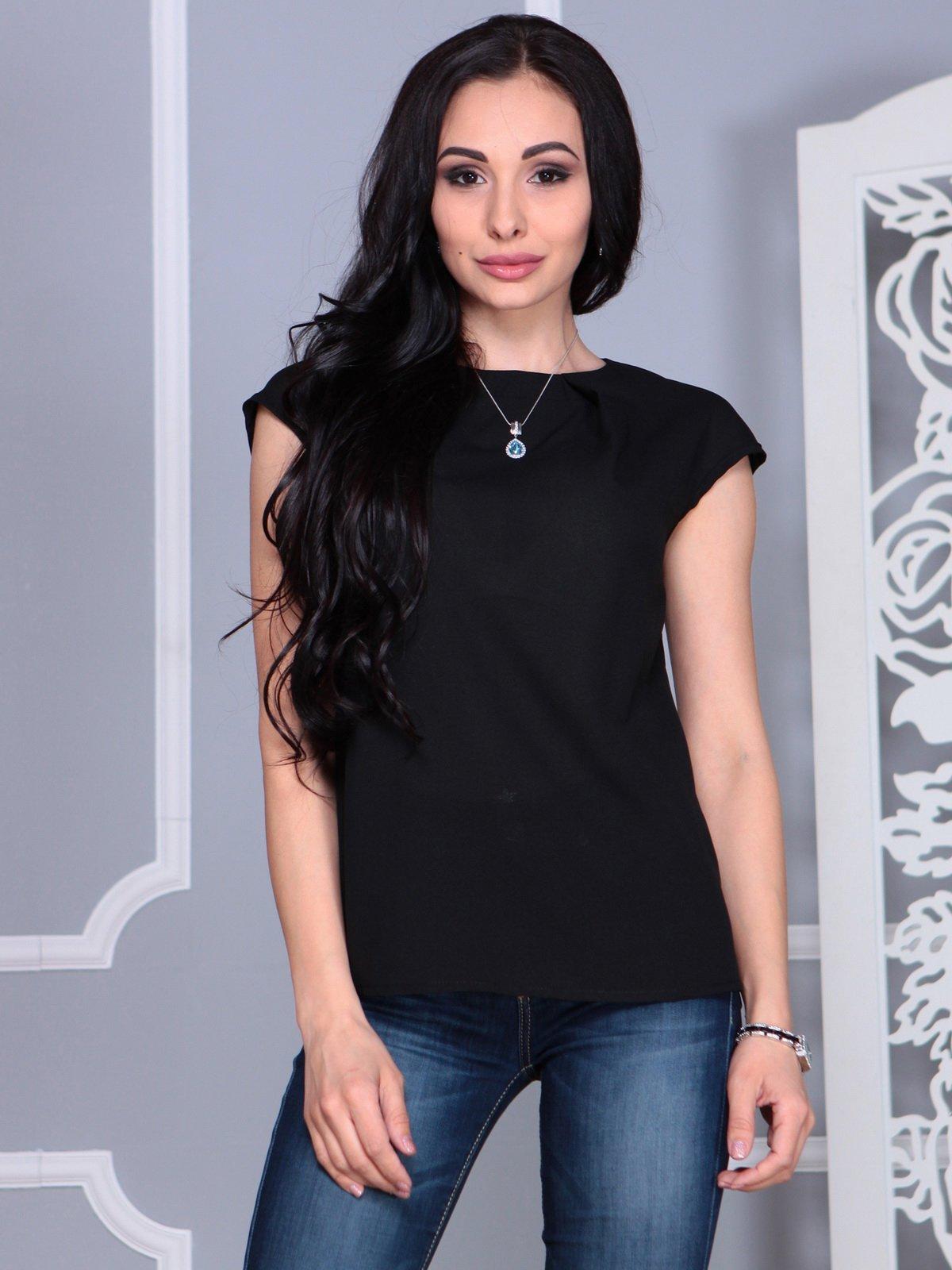 Блуза черная | 4068490