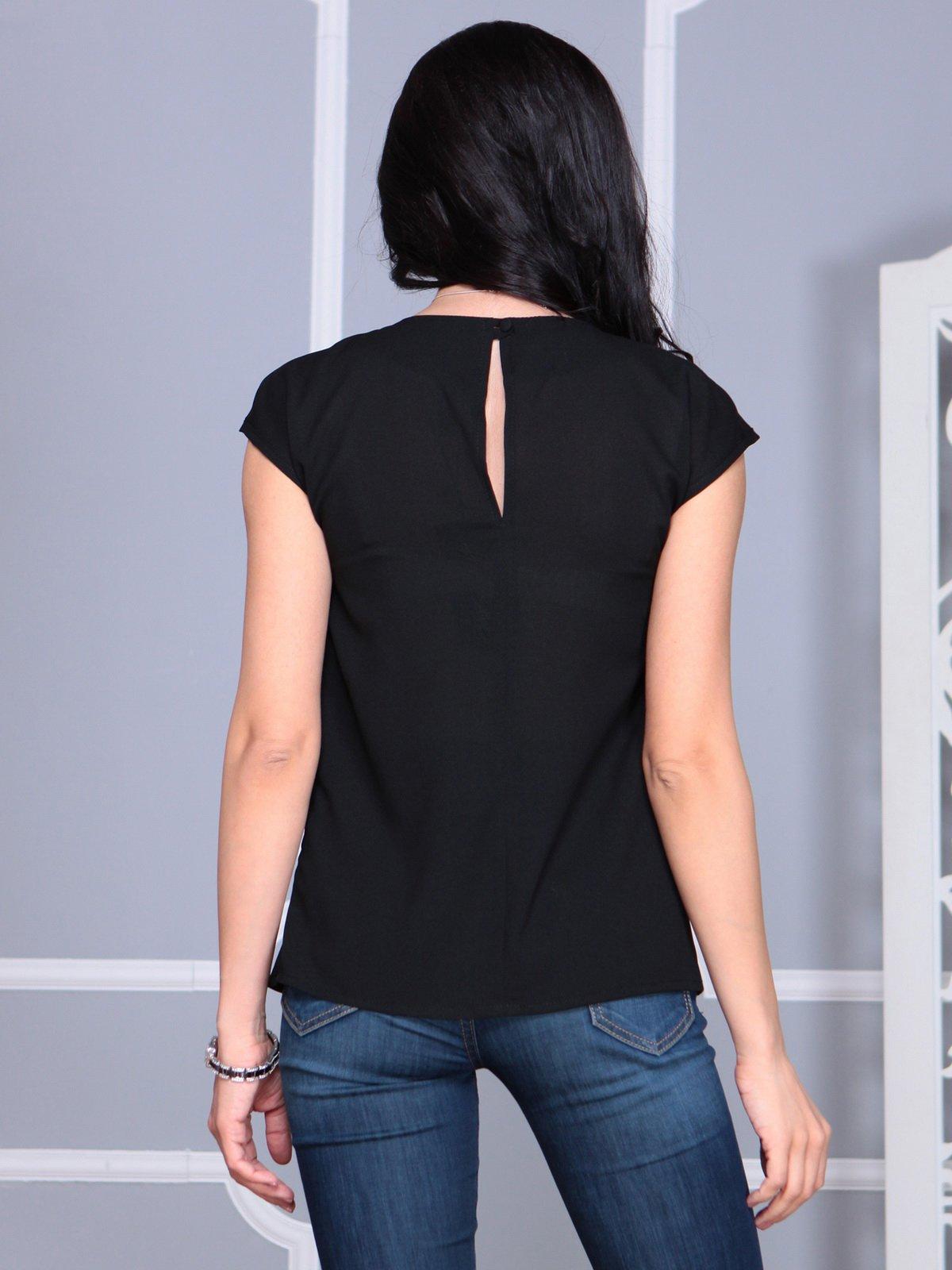 Блуза черная | 4068490 | фото 2