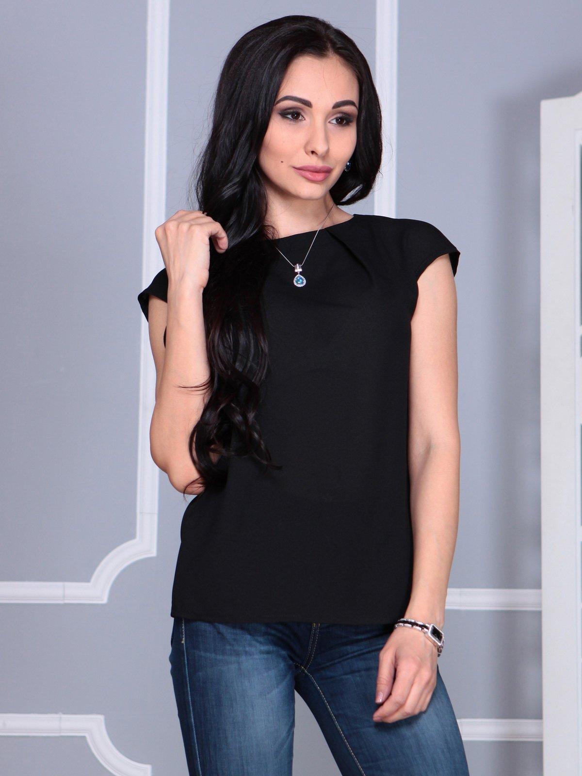 Блуза черная | 4068490 | фото 3