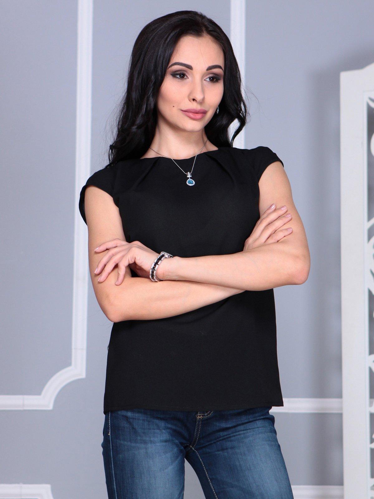 Блуза черная | 4068490 | фото 4