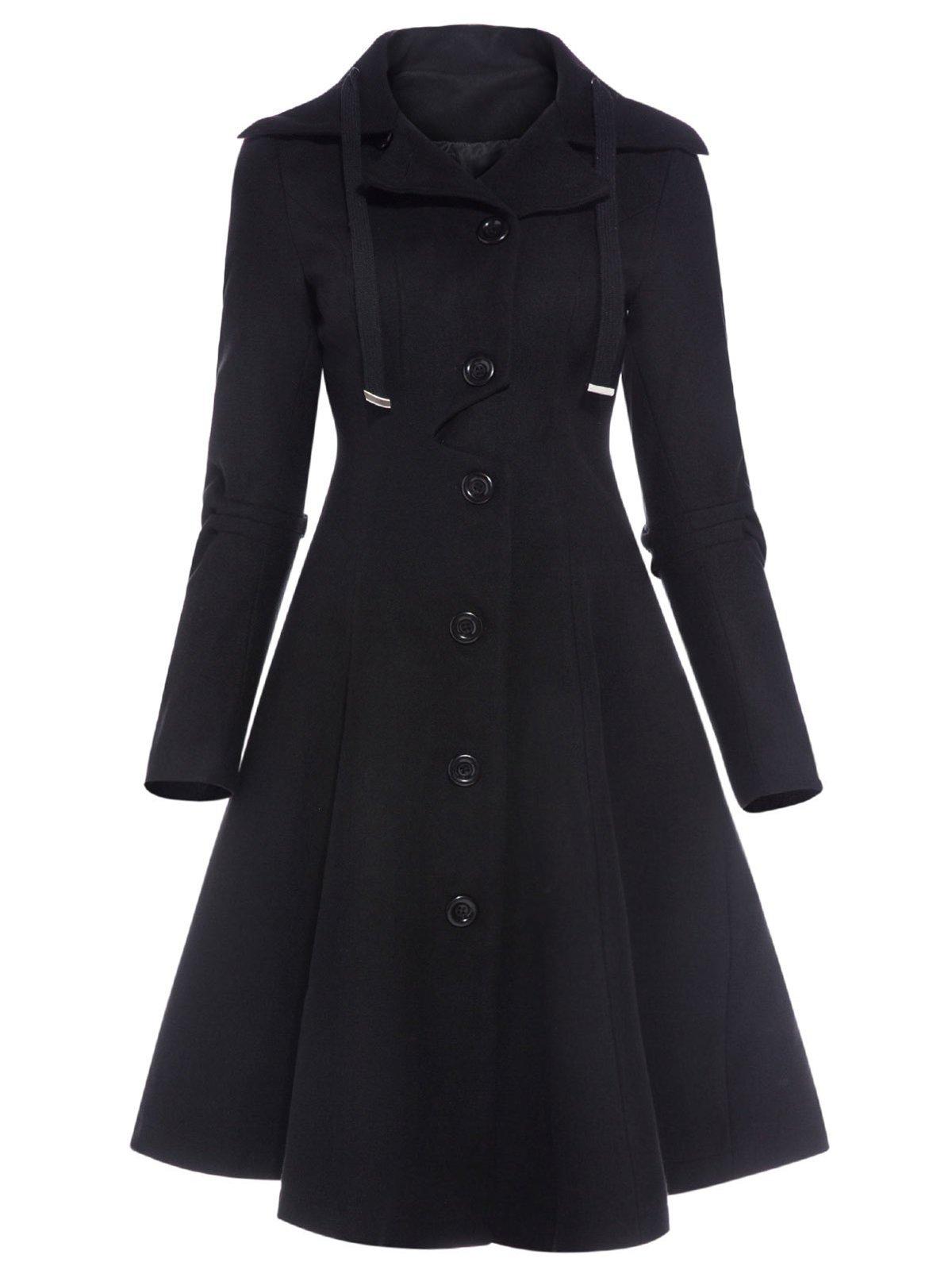 Пальто черное | 4076653