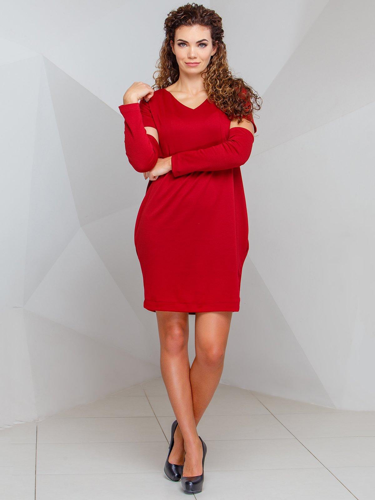 Сукня бордового кольору   4068262