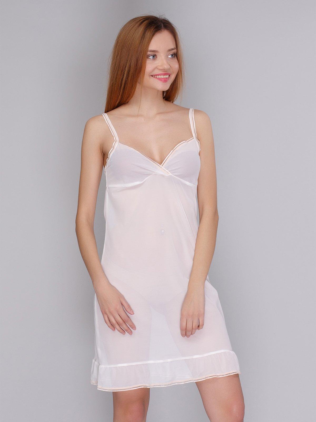 Сорочка нічна молочного кольору — Calzedonia 23fc83545fae9