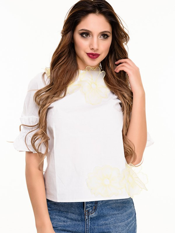 Блуза белая | 4080161