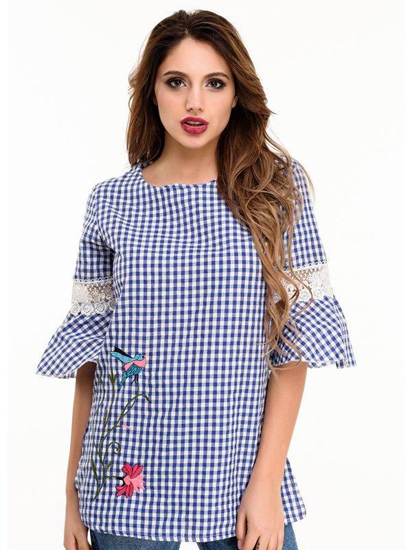 Блуза синя | 4080203