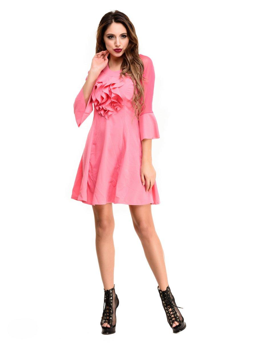 Платье розовое | 4080248