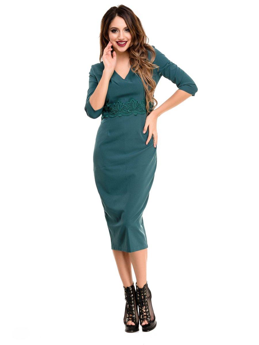 Платье зеленое | 4080263