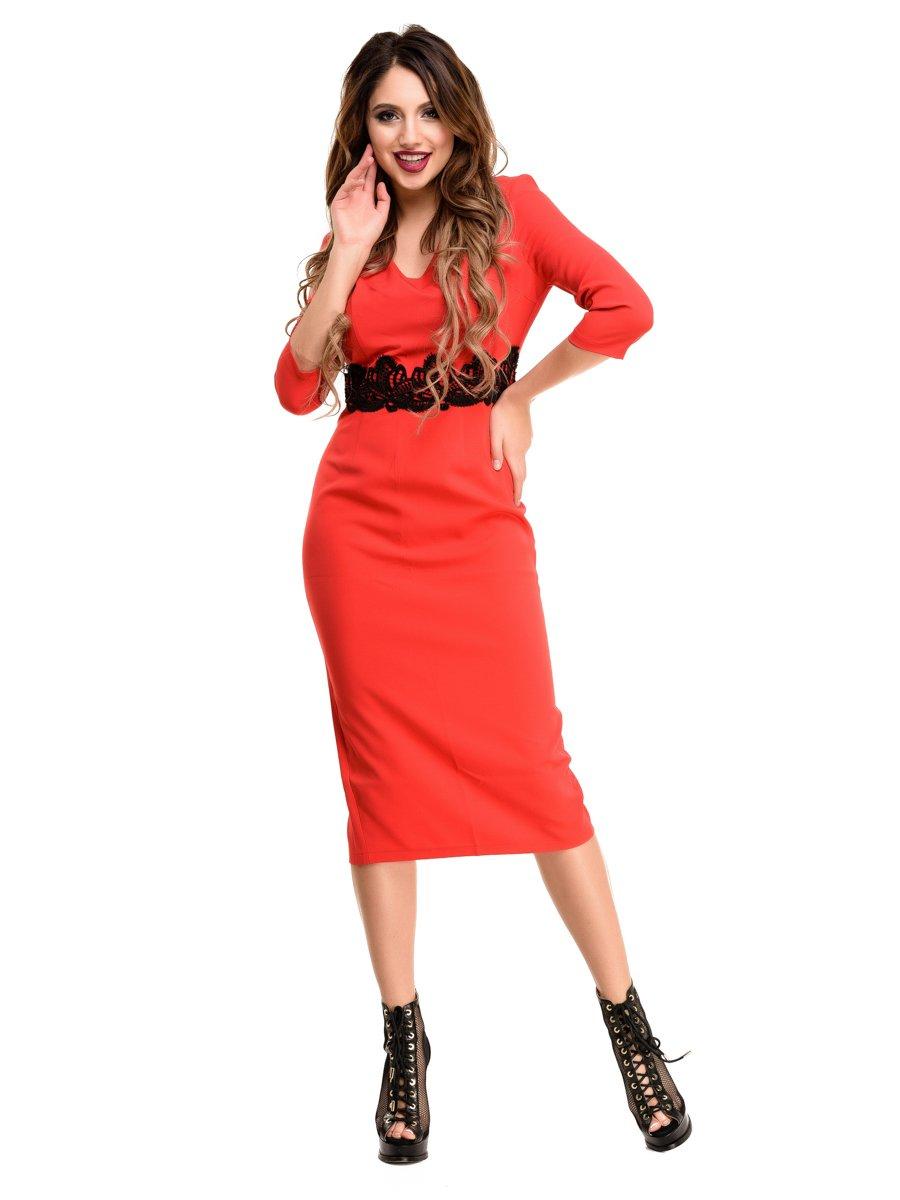 Платье красное | 4080264