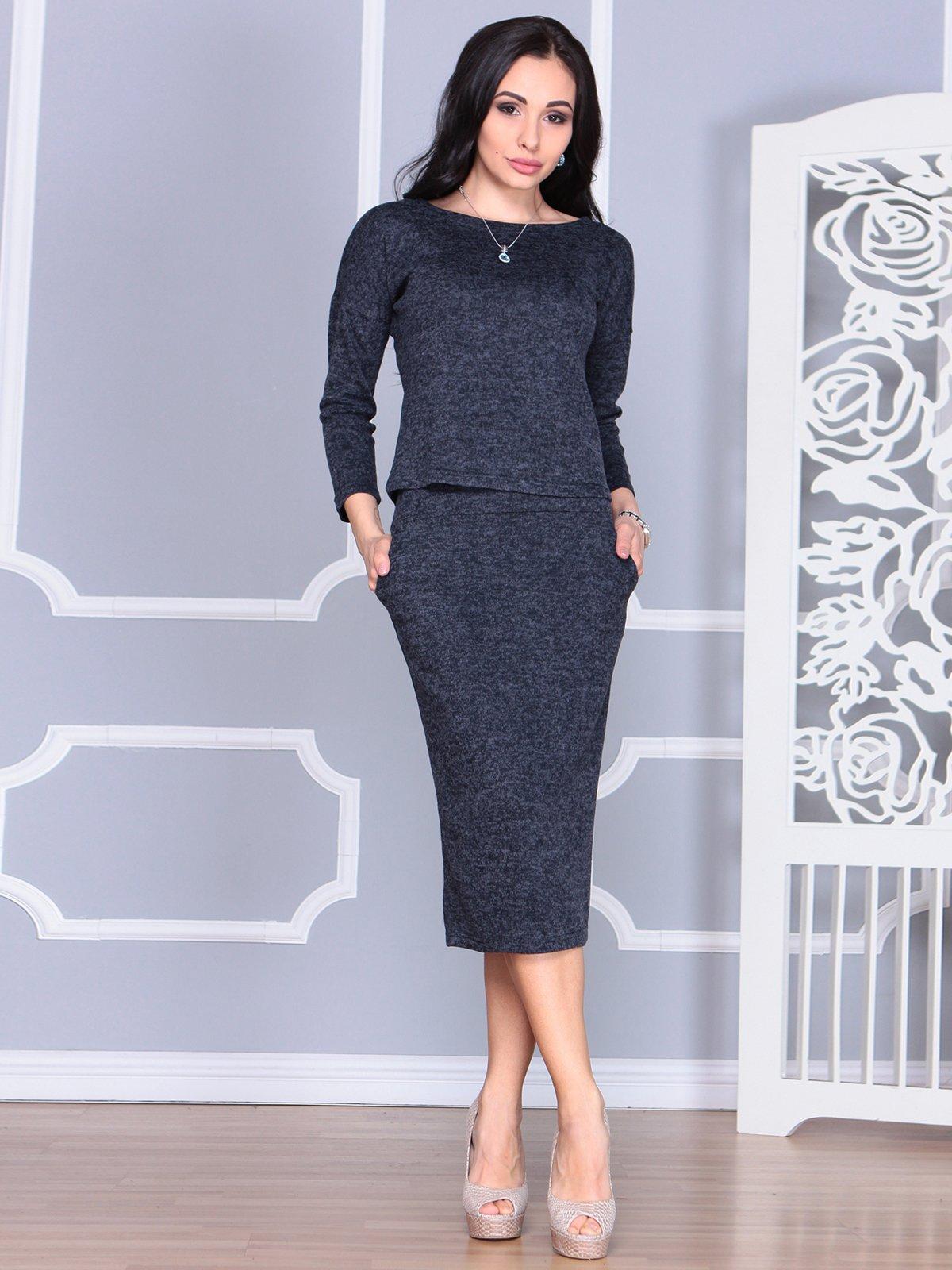 Костюм: блуза и юбка   4085615
