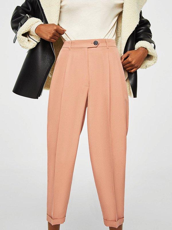 Штани золотисто-персикового кольору | 4060174