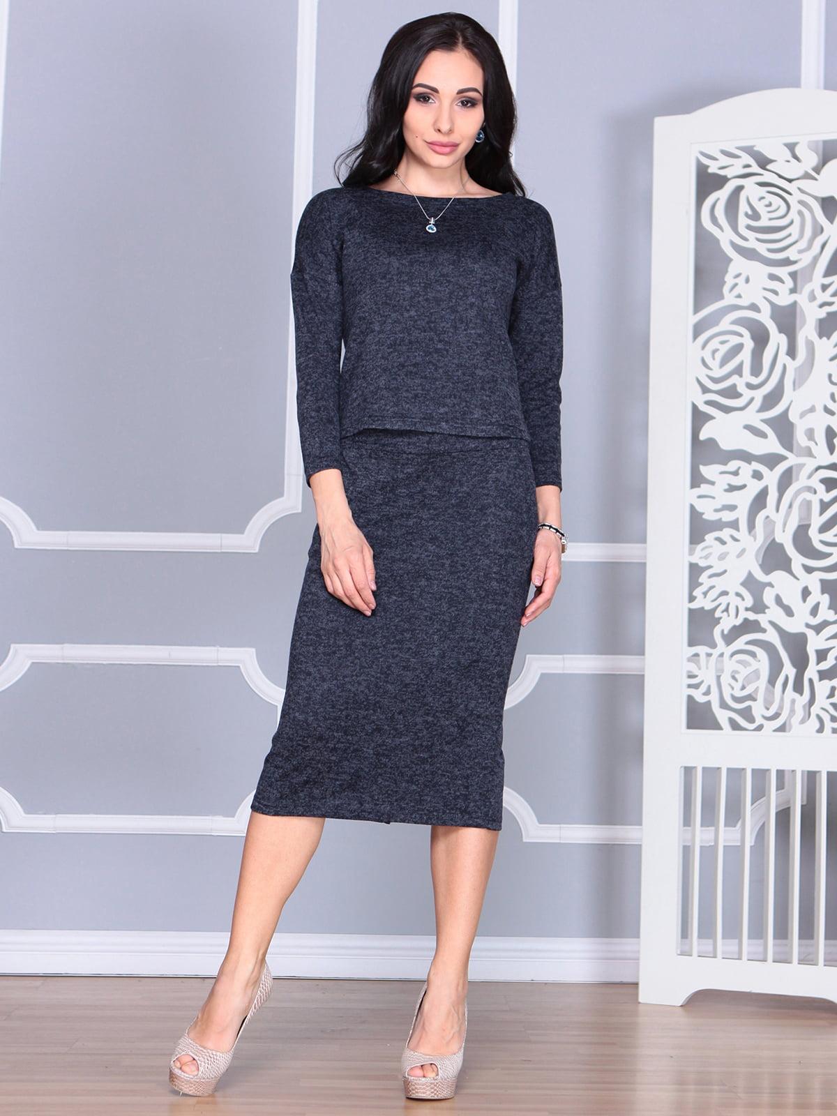 Костюм: блуза и юбка   4085615   фото 3