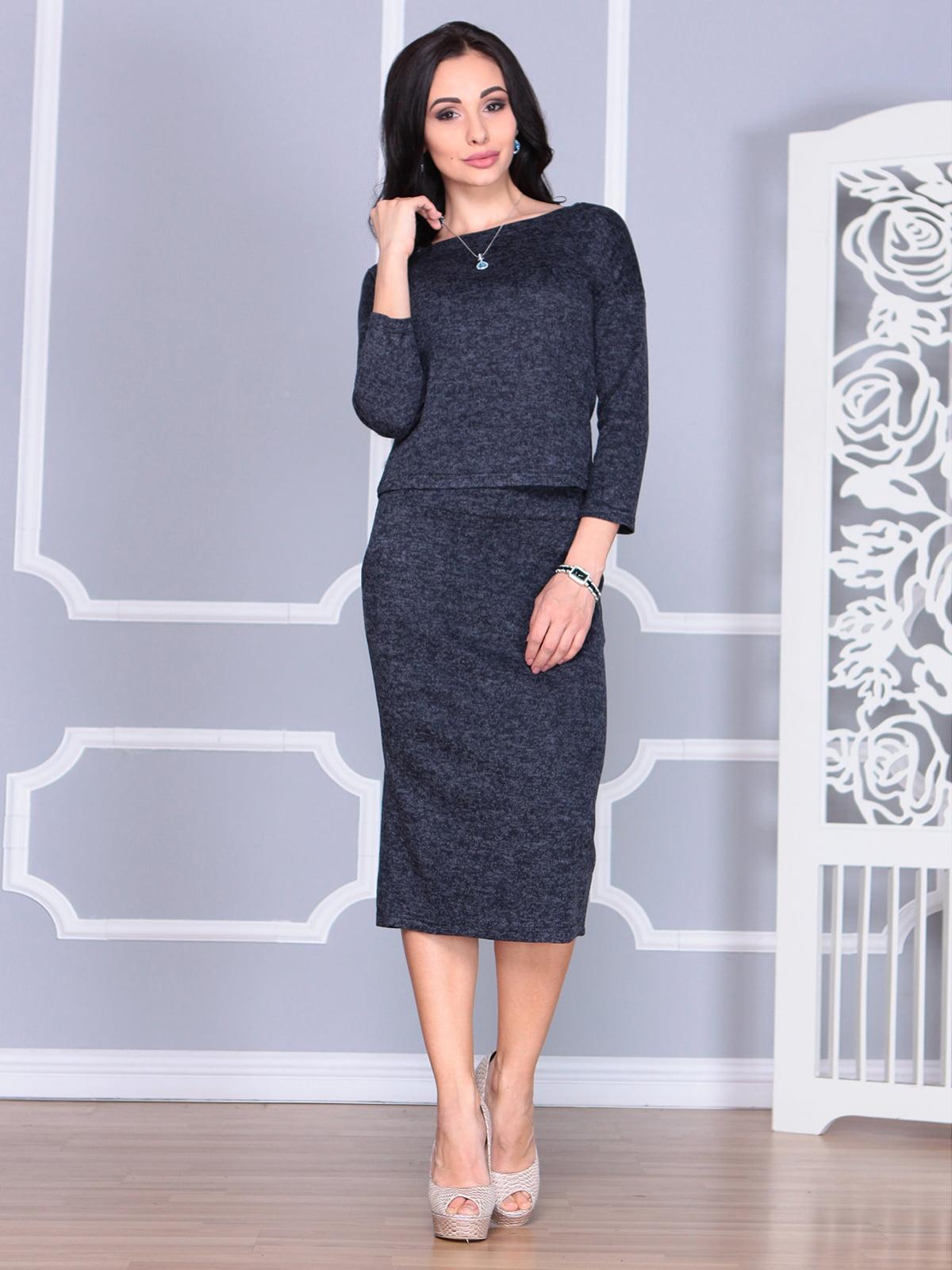 Костюм: блуза и юбка   4085615   фото 5