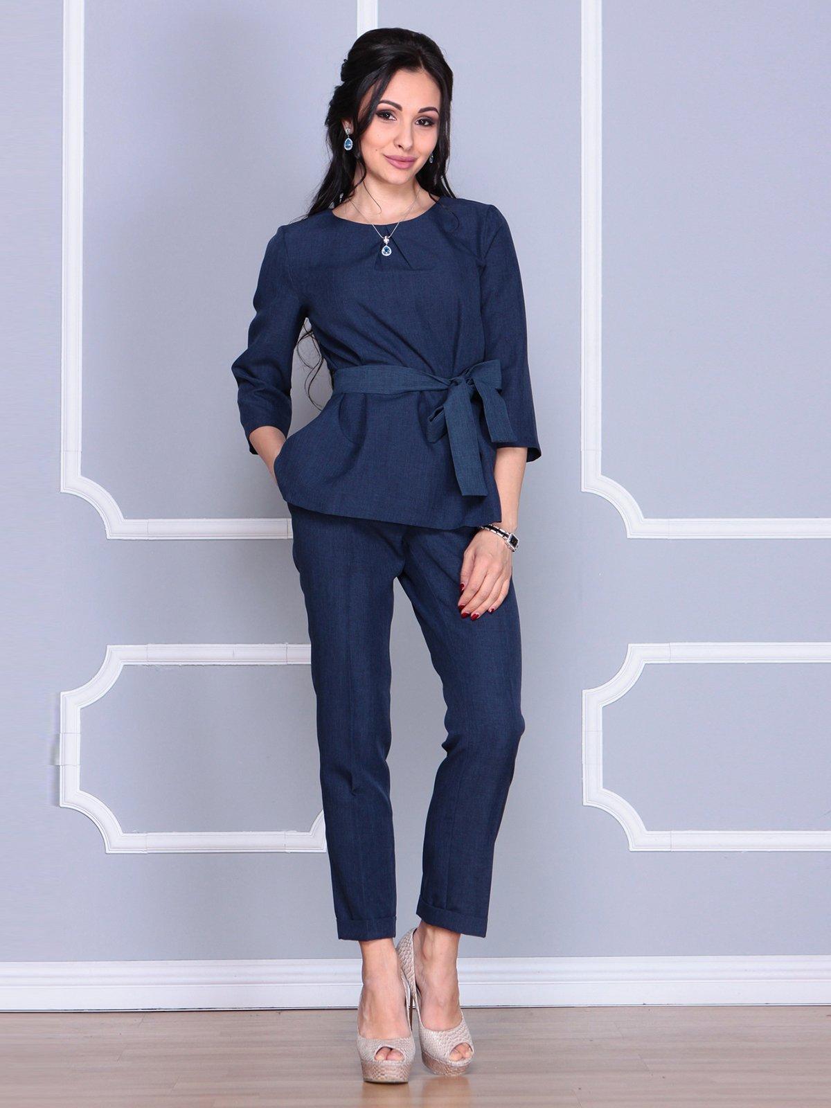 Костюм: блуза и брюки   4078884