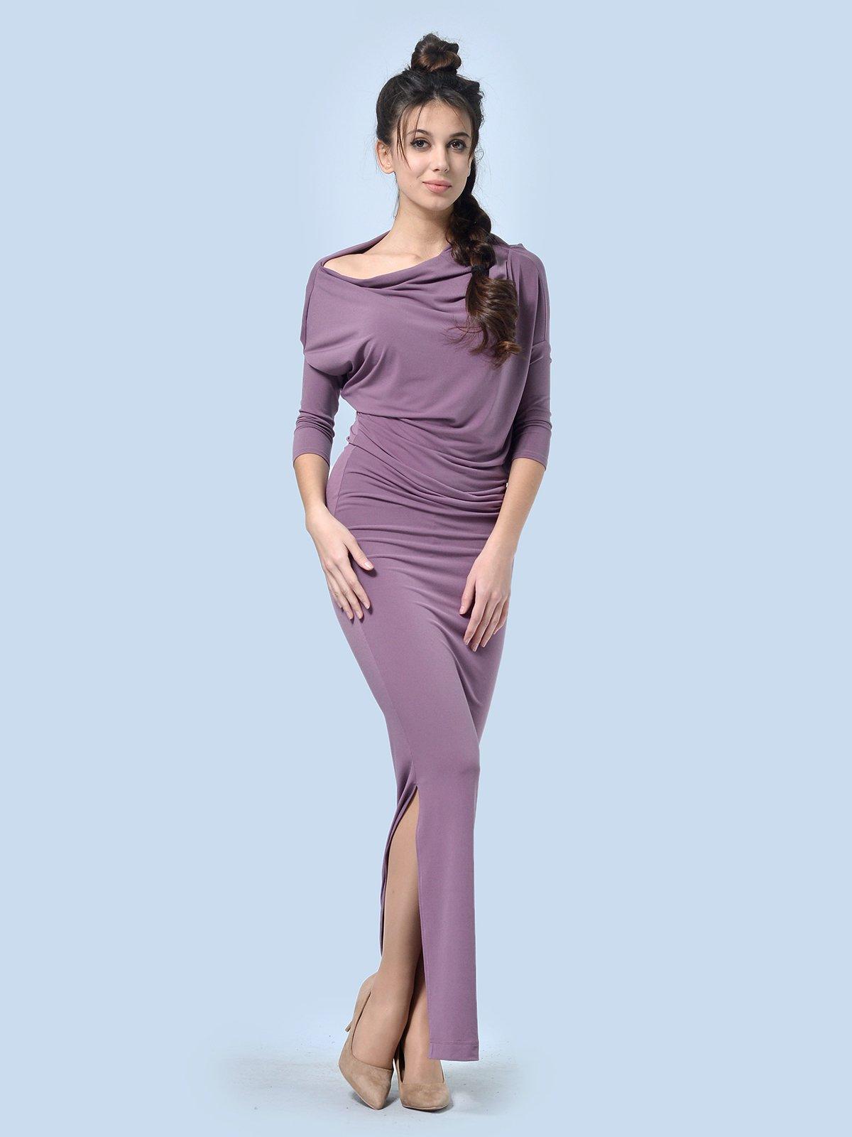 Платье фрезового цвета | 4090611
