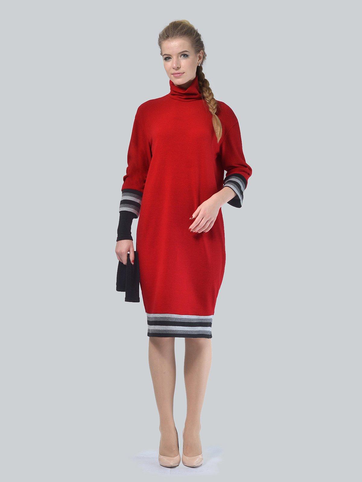 Платье красное | 4090660