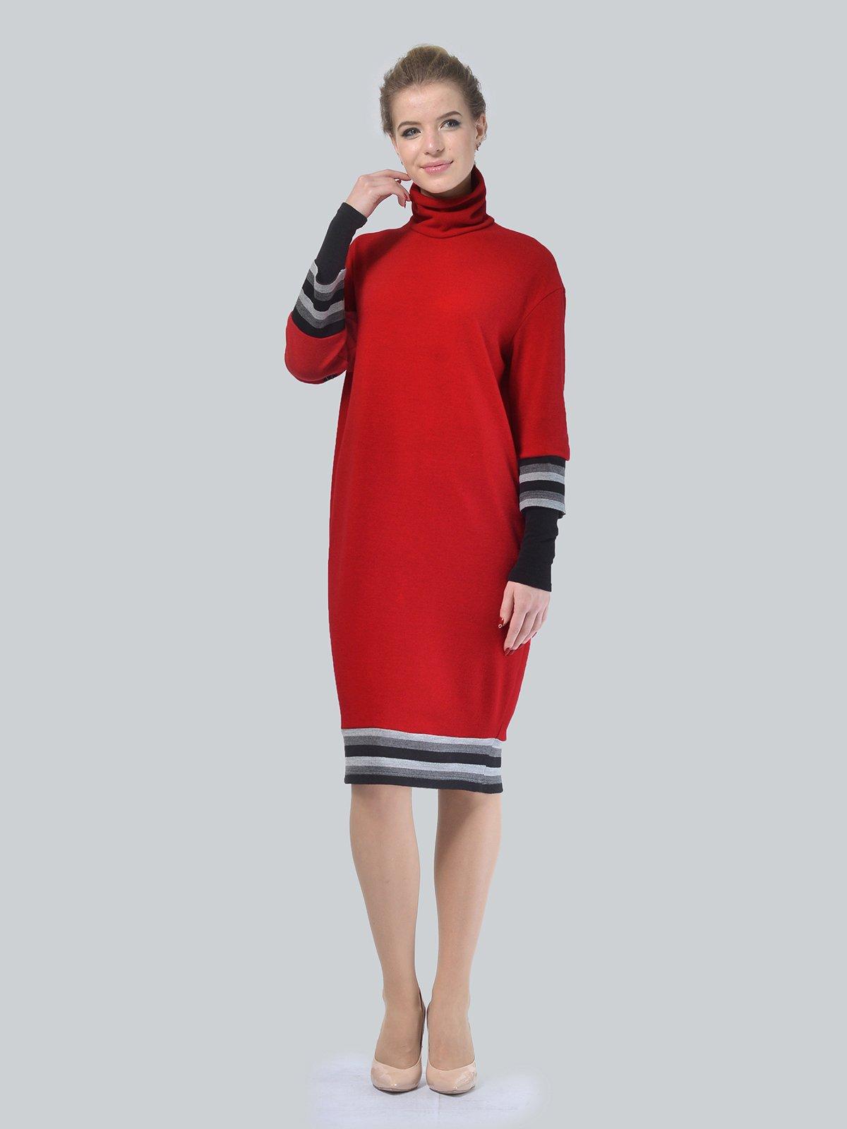 Платье красное | 4090660 | фото 2