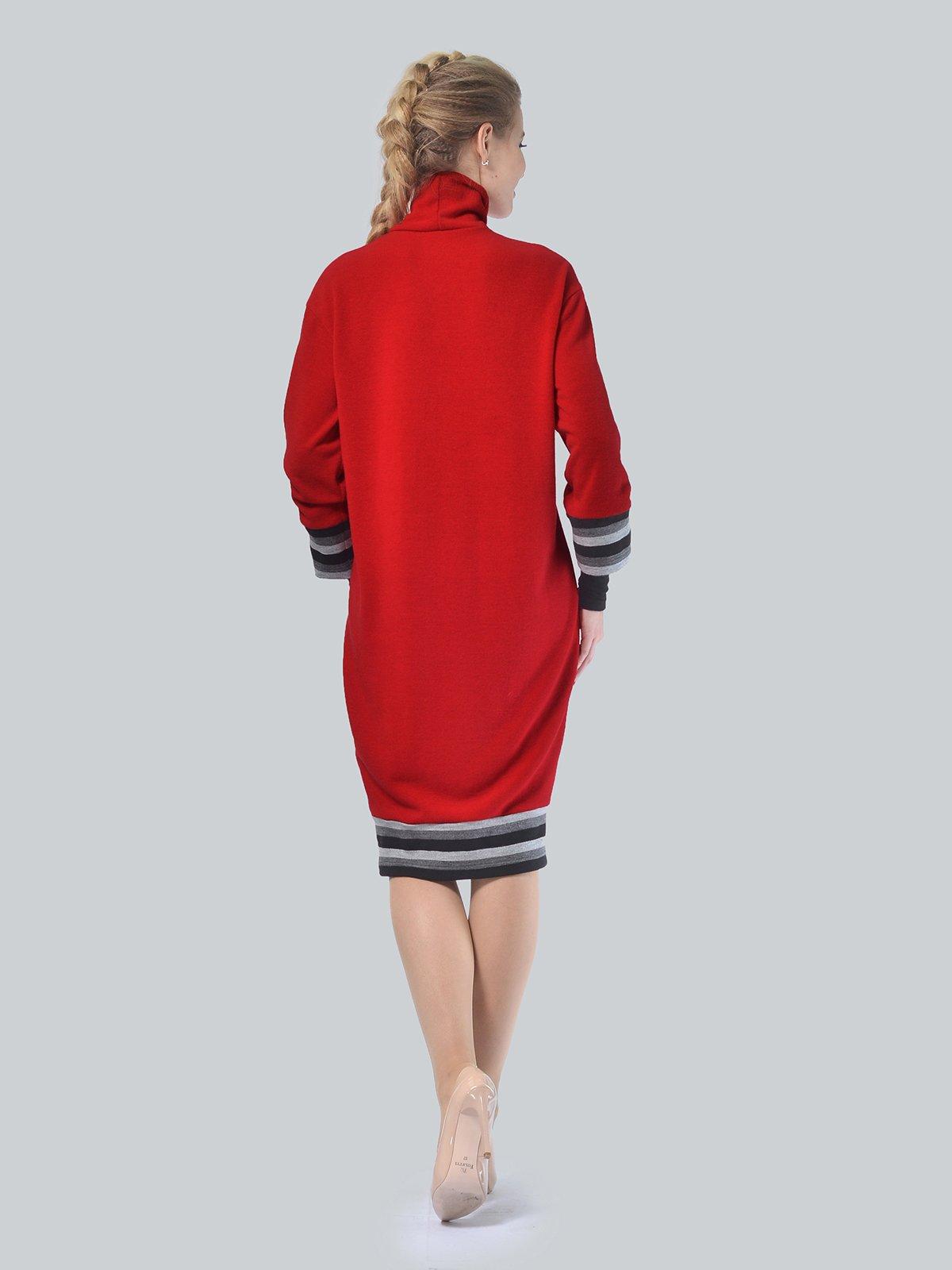 Платье красное | 4090660 | фото 3