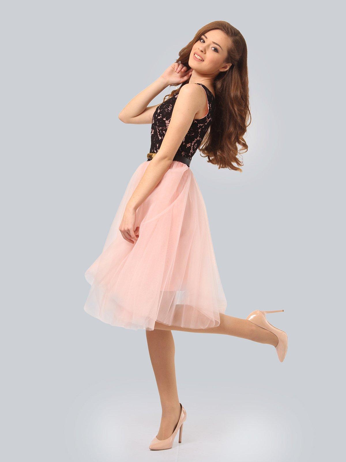 Платье цвета пудры | 4090674