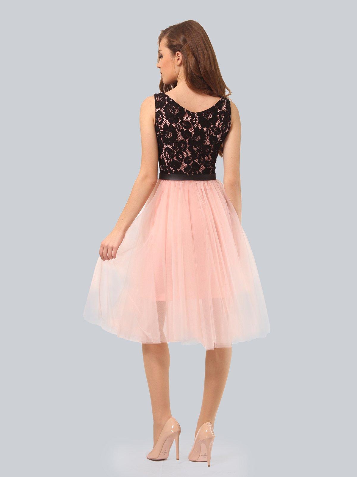 Платье цвета пудры | 4090674 | фото 2