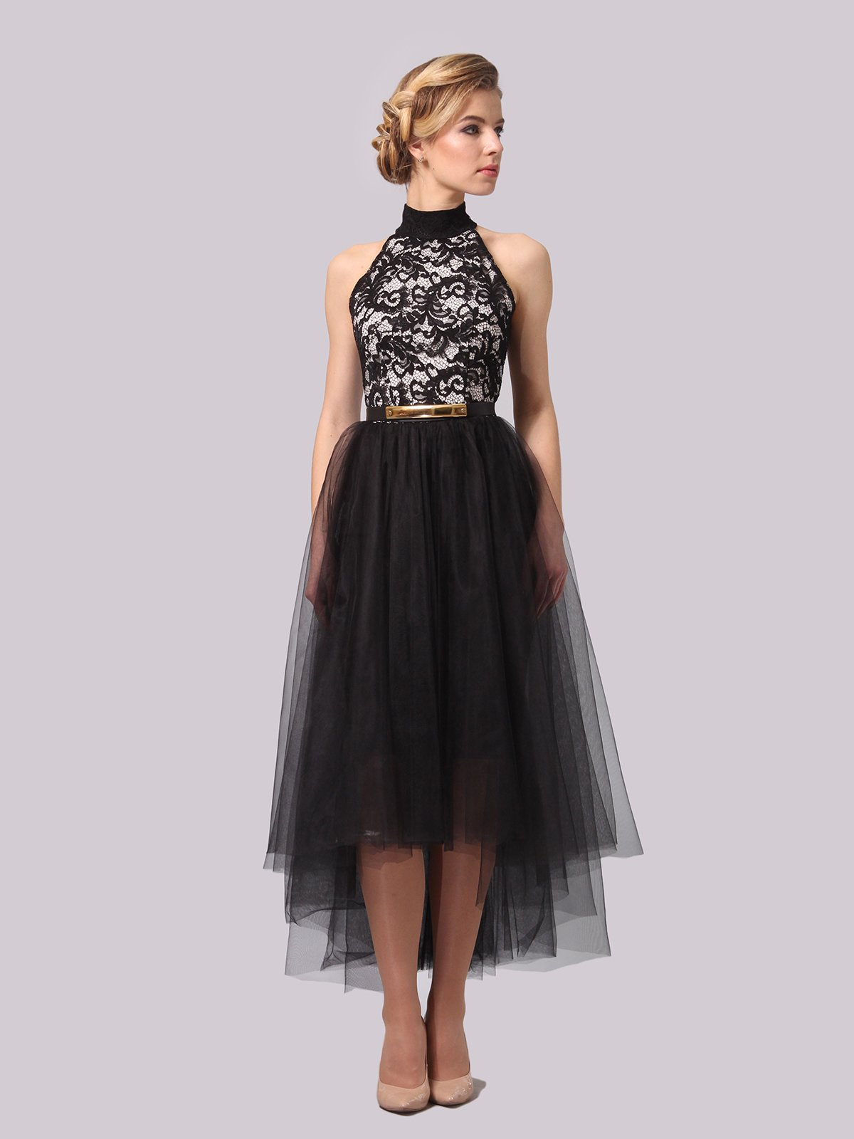 Платье черное   4090679   фото 3