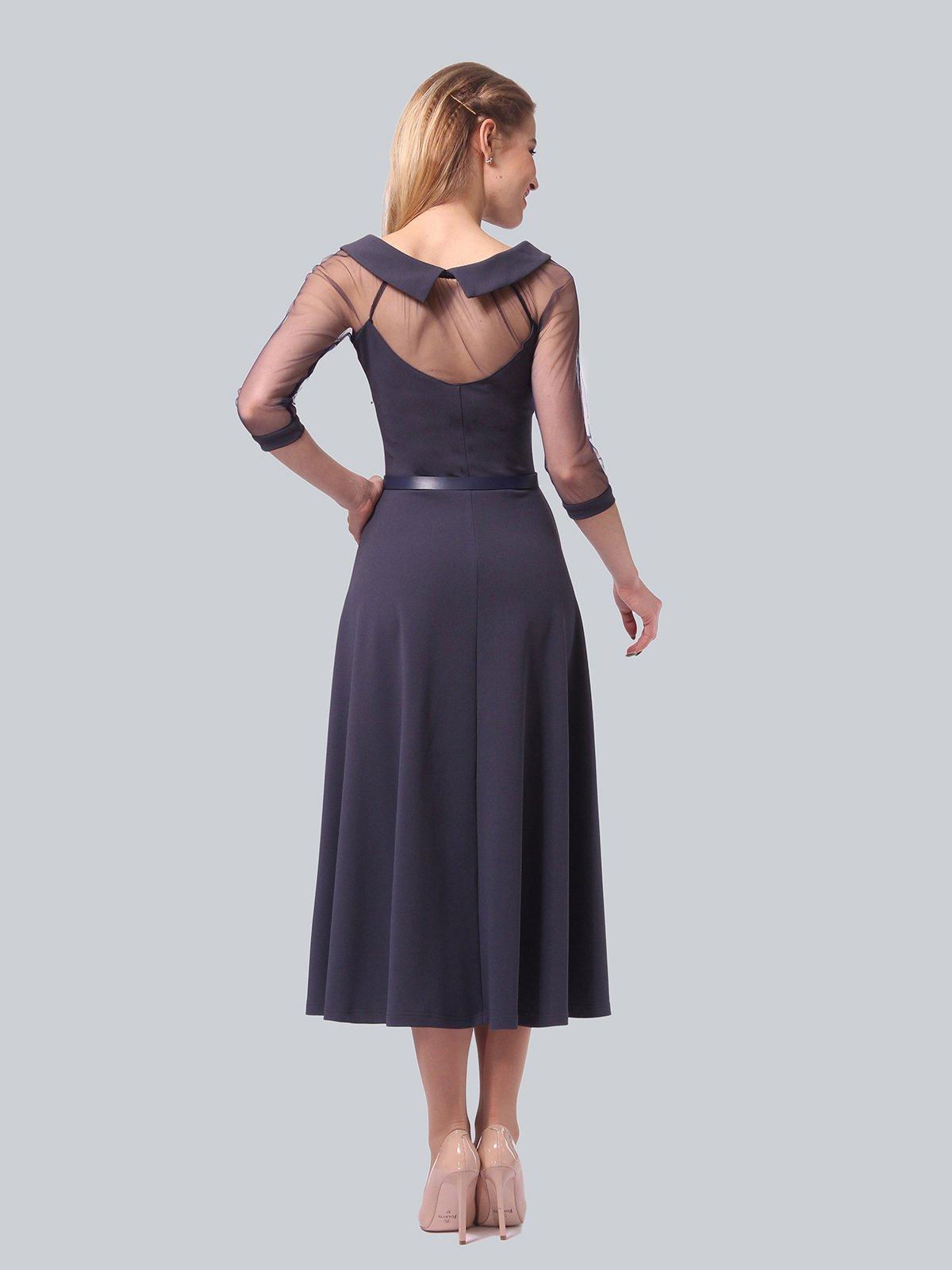 Платье графитового цвета   4090689   фото 5