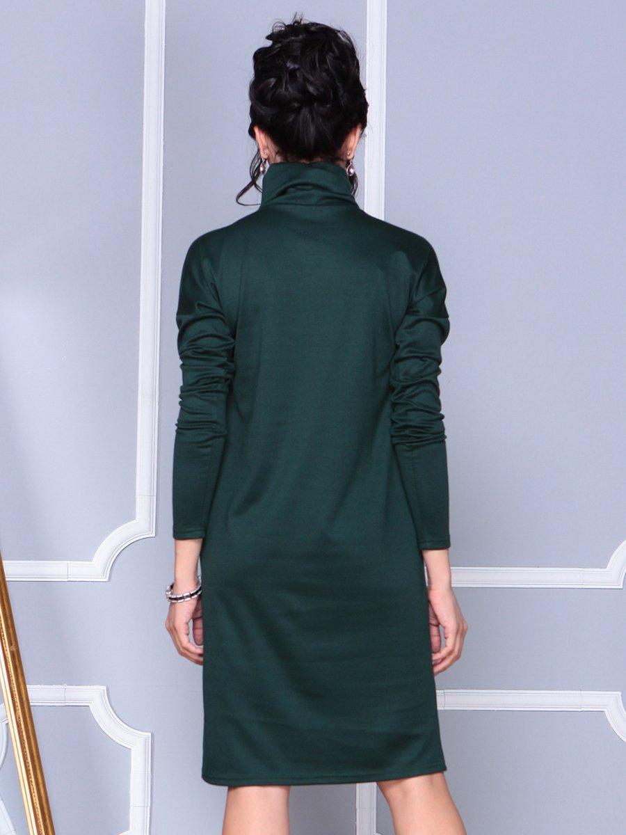Платье темно-изумрудное | 4092872 | фото 2