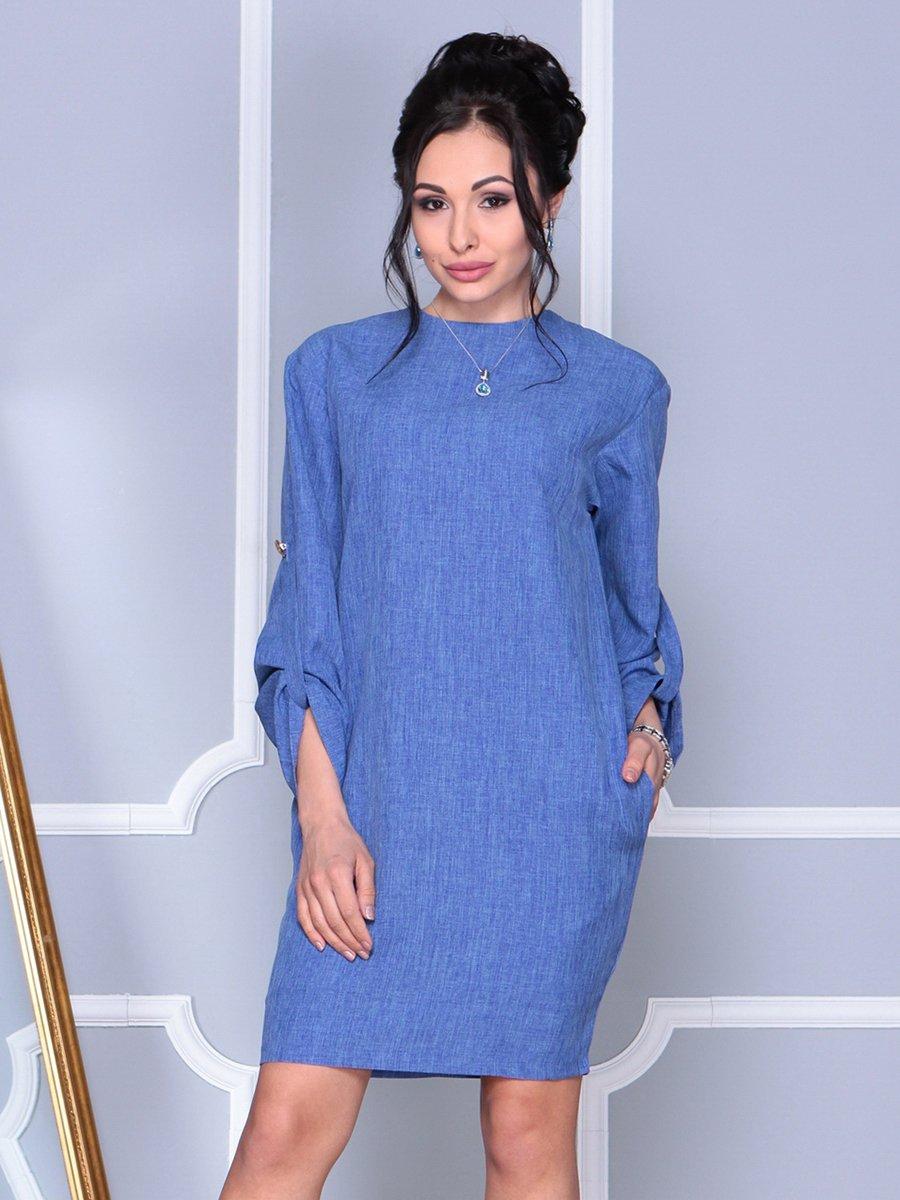 Платье синее | 4092877
