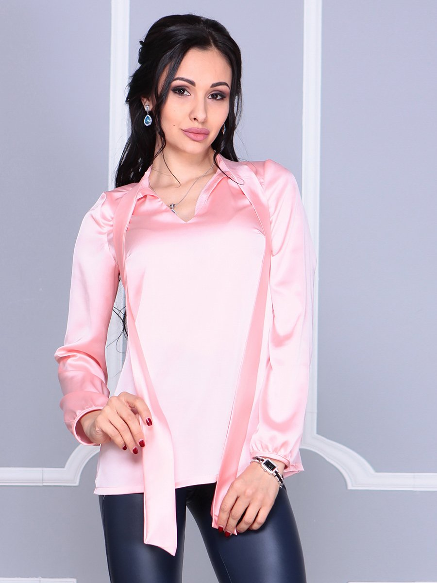 Блуза персикового цвета | 4092884