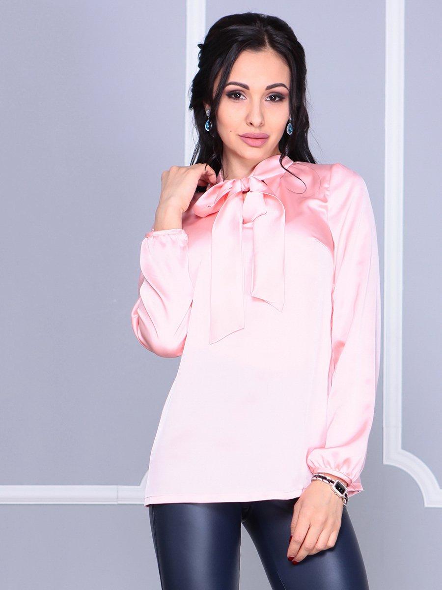 Блуза персикового цвета | 4092884 | фото 5