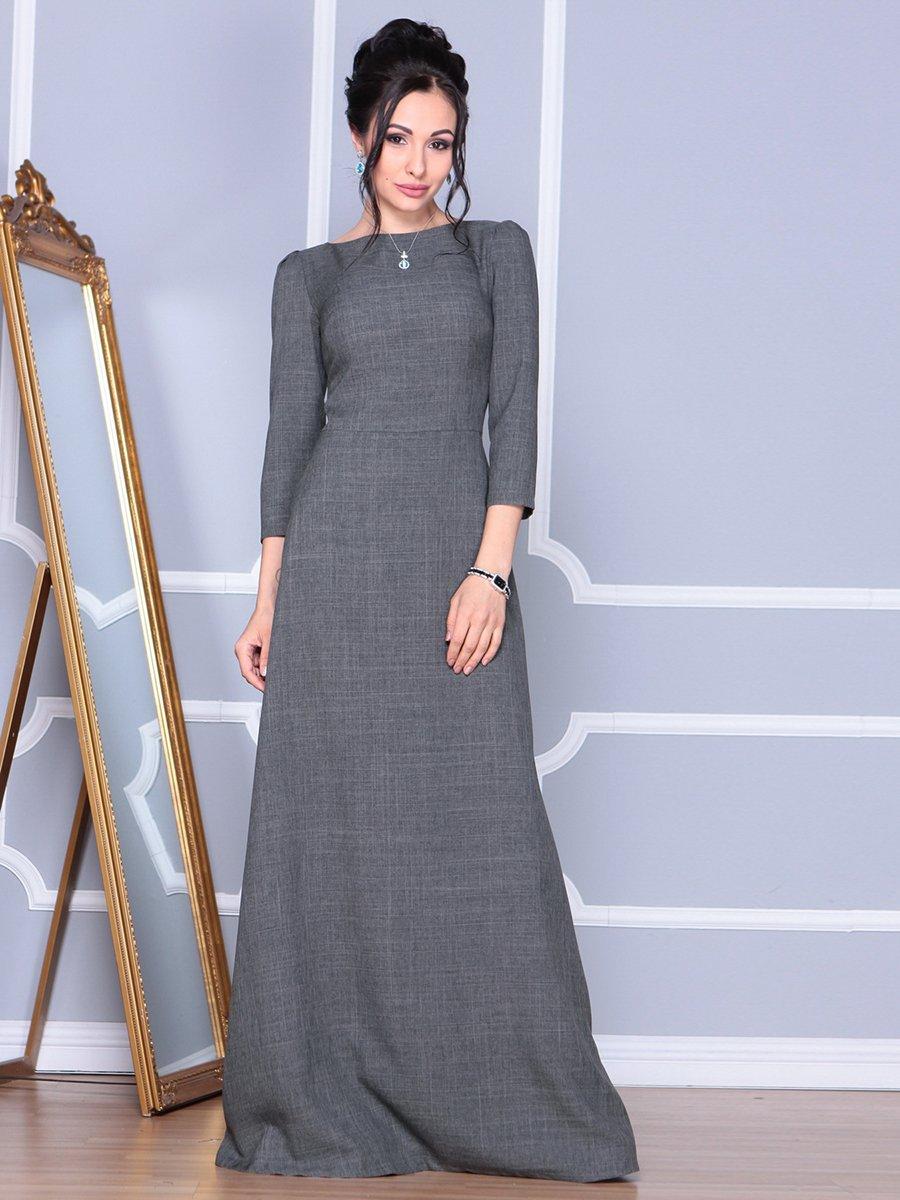 Платье графитовое | 4092885