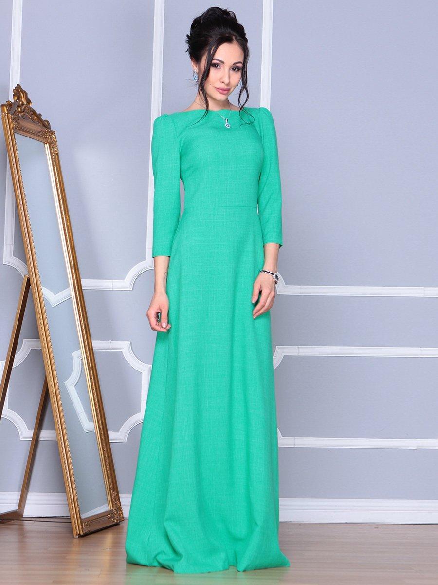 Платье зеленое | 4092886
