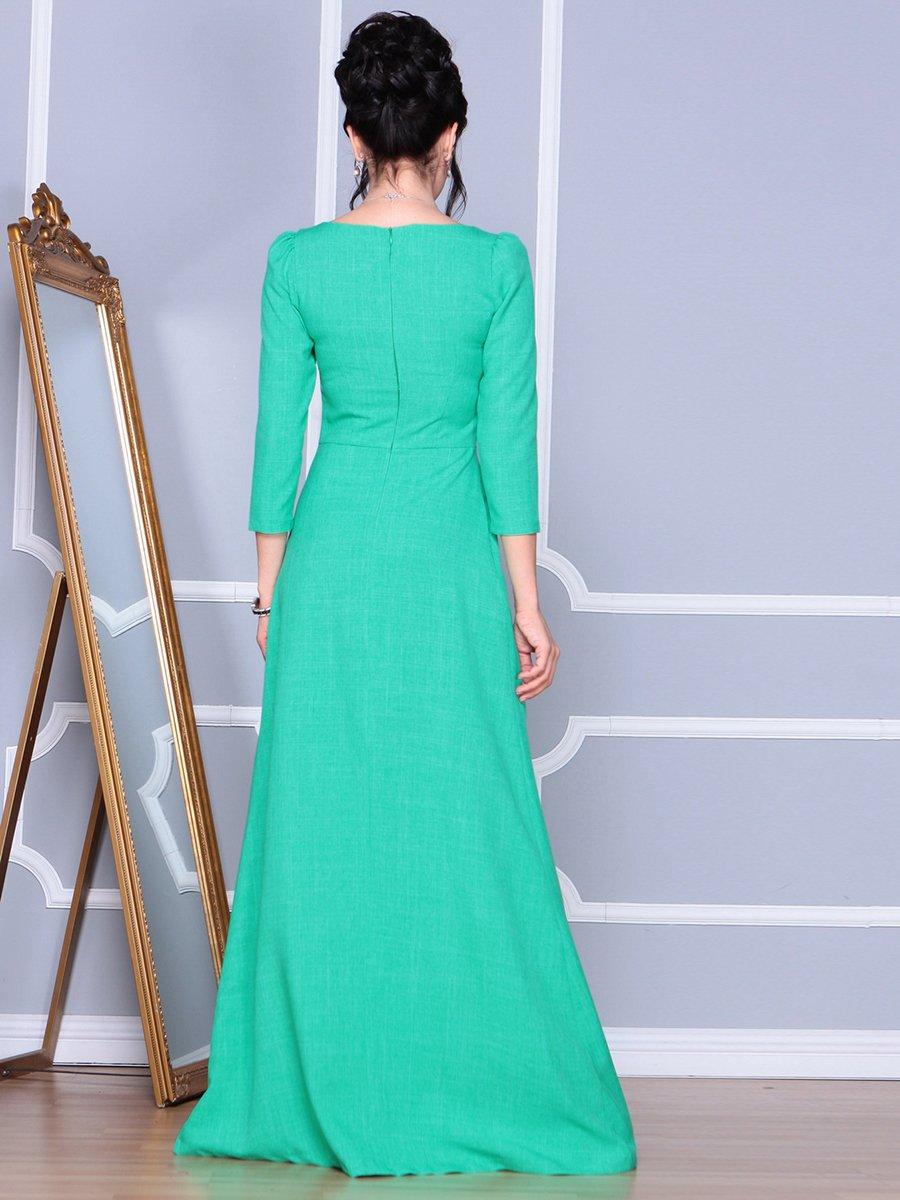 Платье зеленое | 4092886 | фото 2