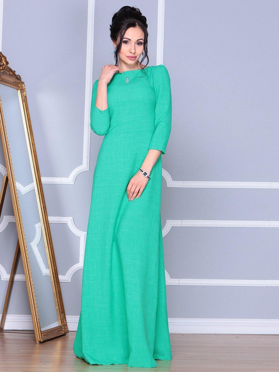 Платье зеленое | 4092886 | фото 3
