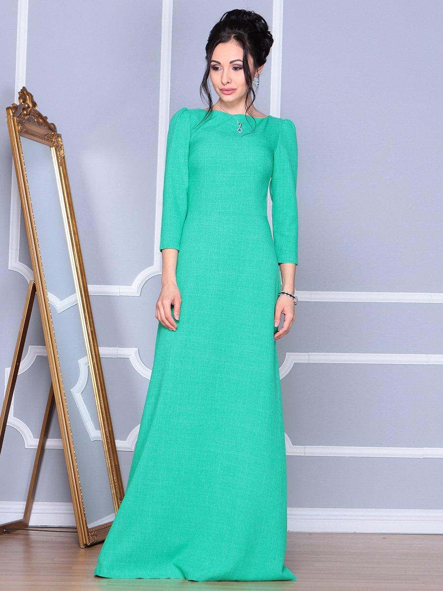 Платье зеленое | 4092886 | фото 4