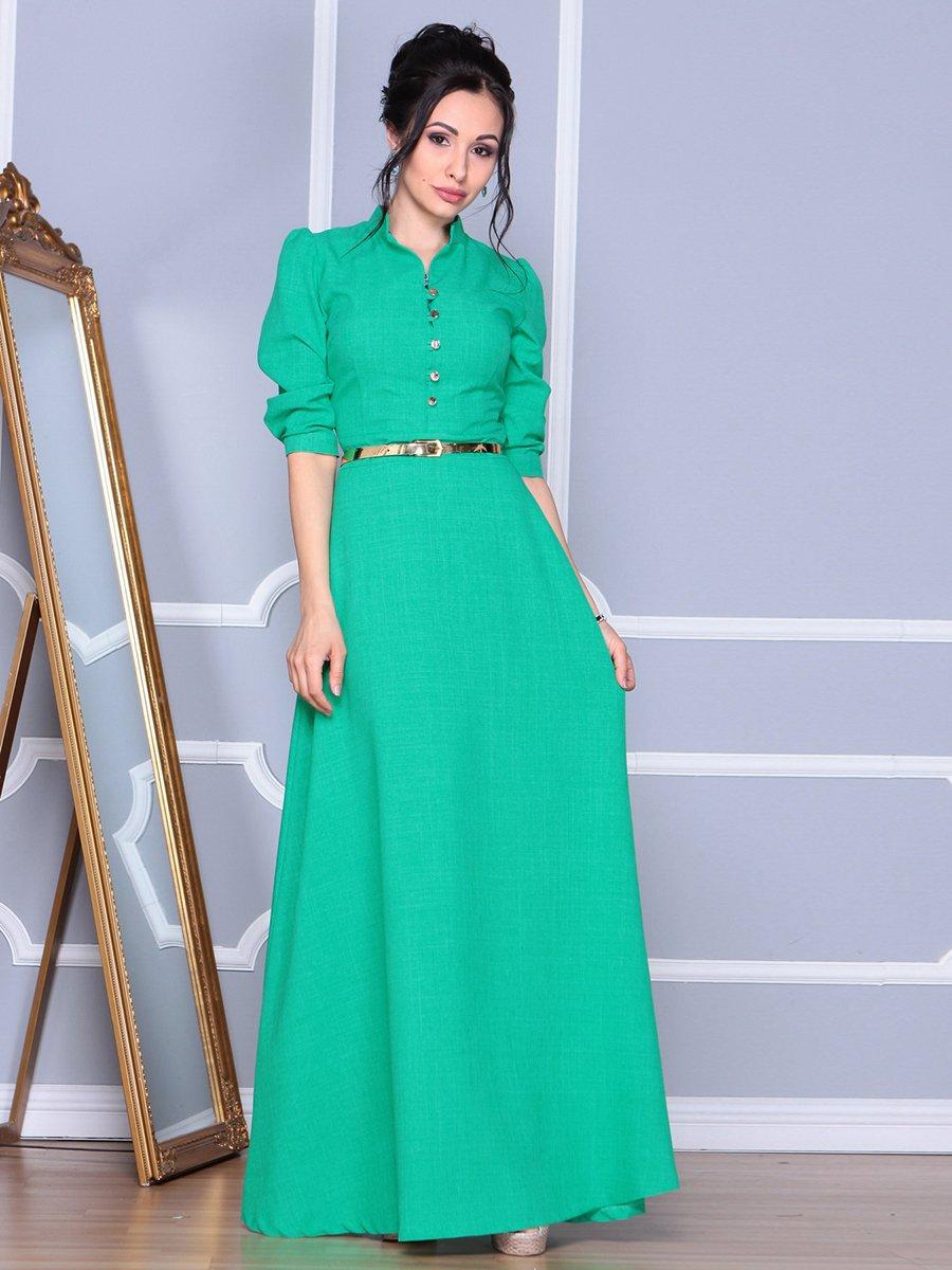 Платье зеленое | 4092889