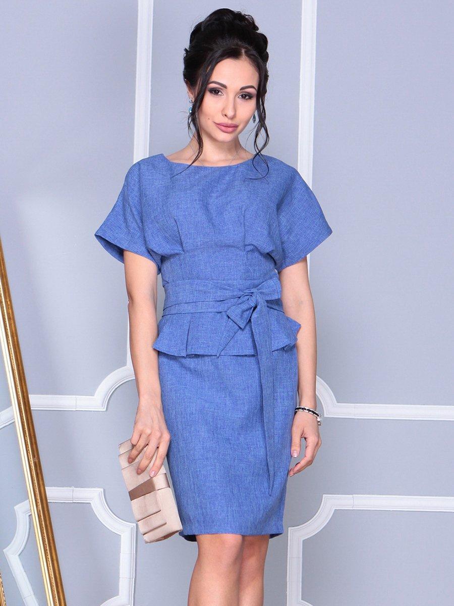 Платье синее   4092893