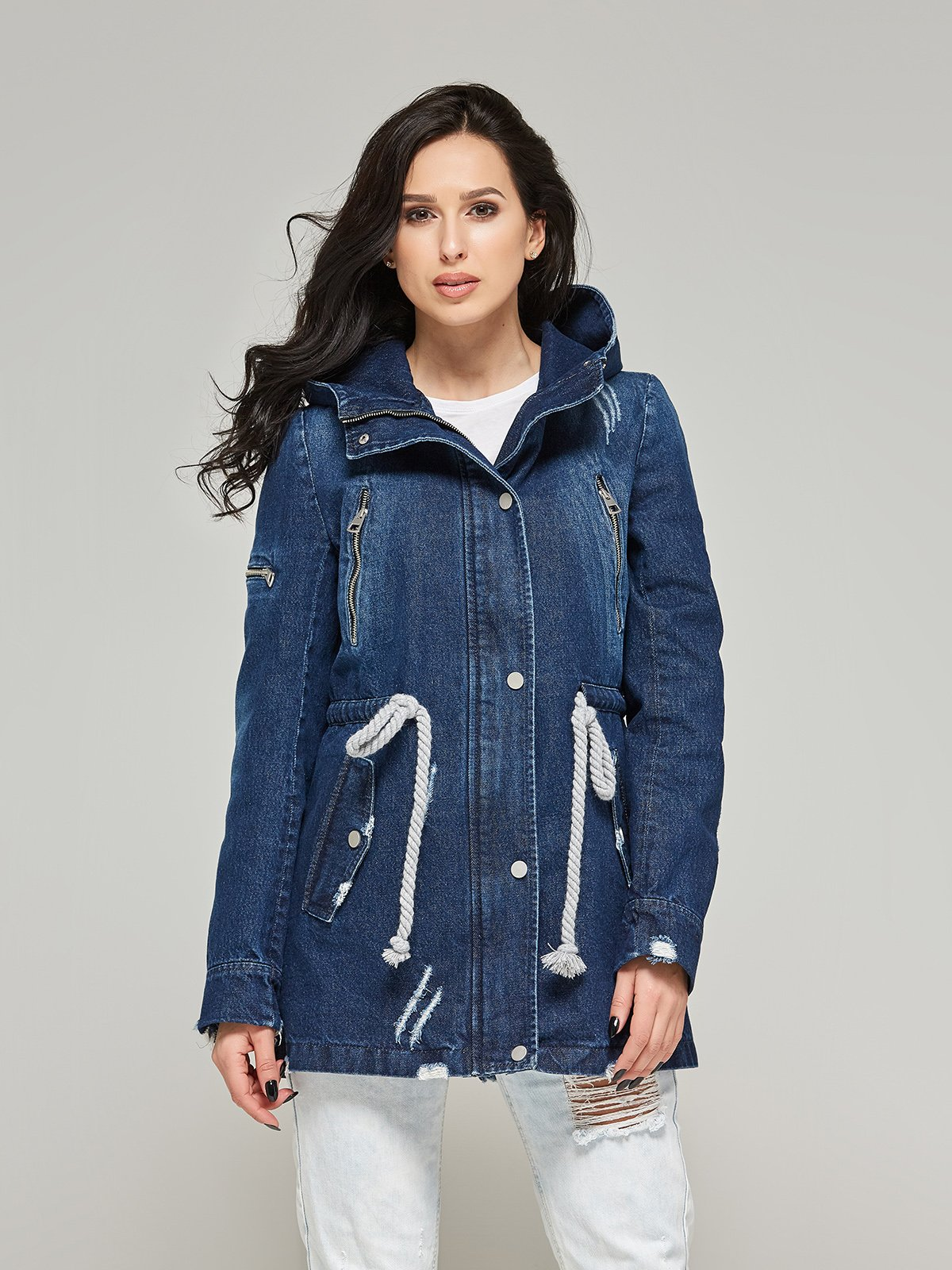 Куртка синя | 4093243