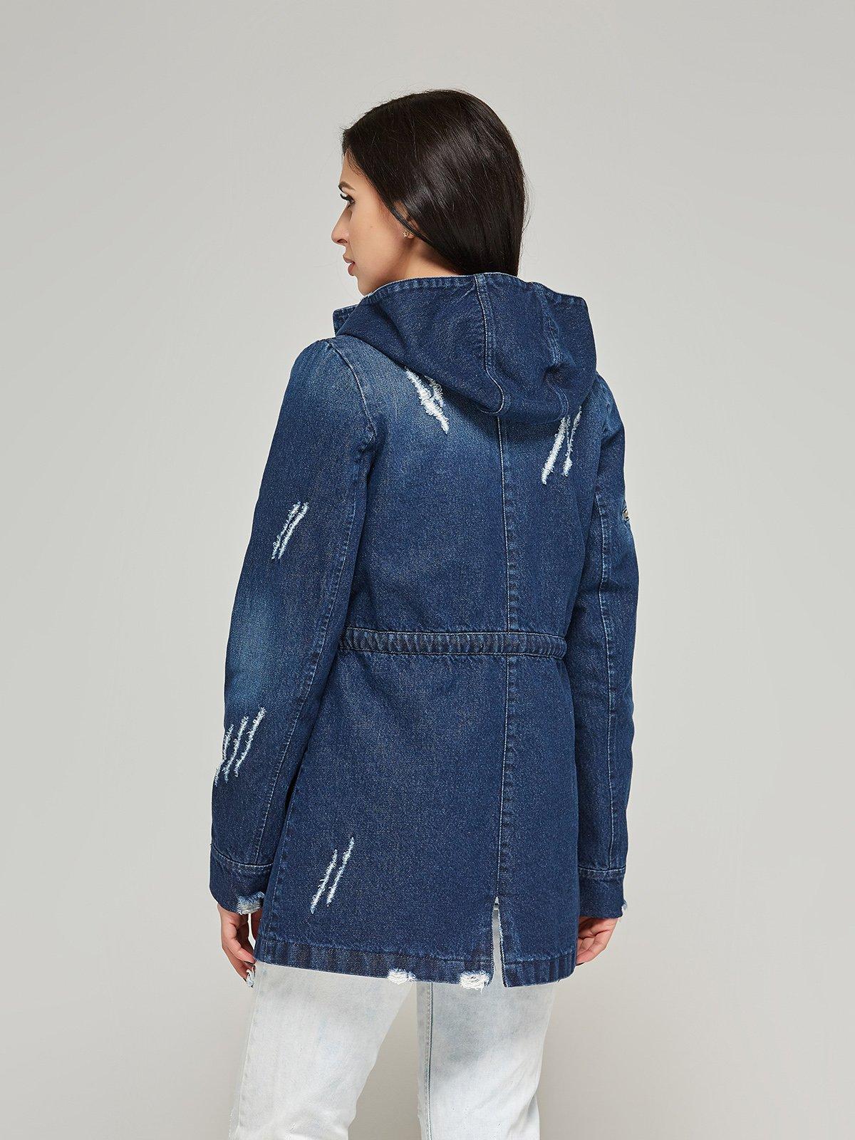 Куртка синя | 4093243 | фото 2