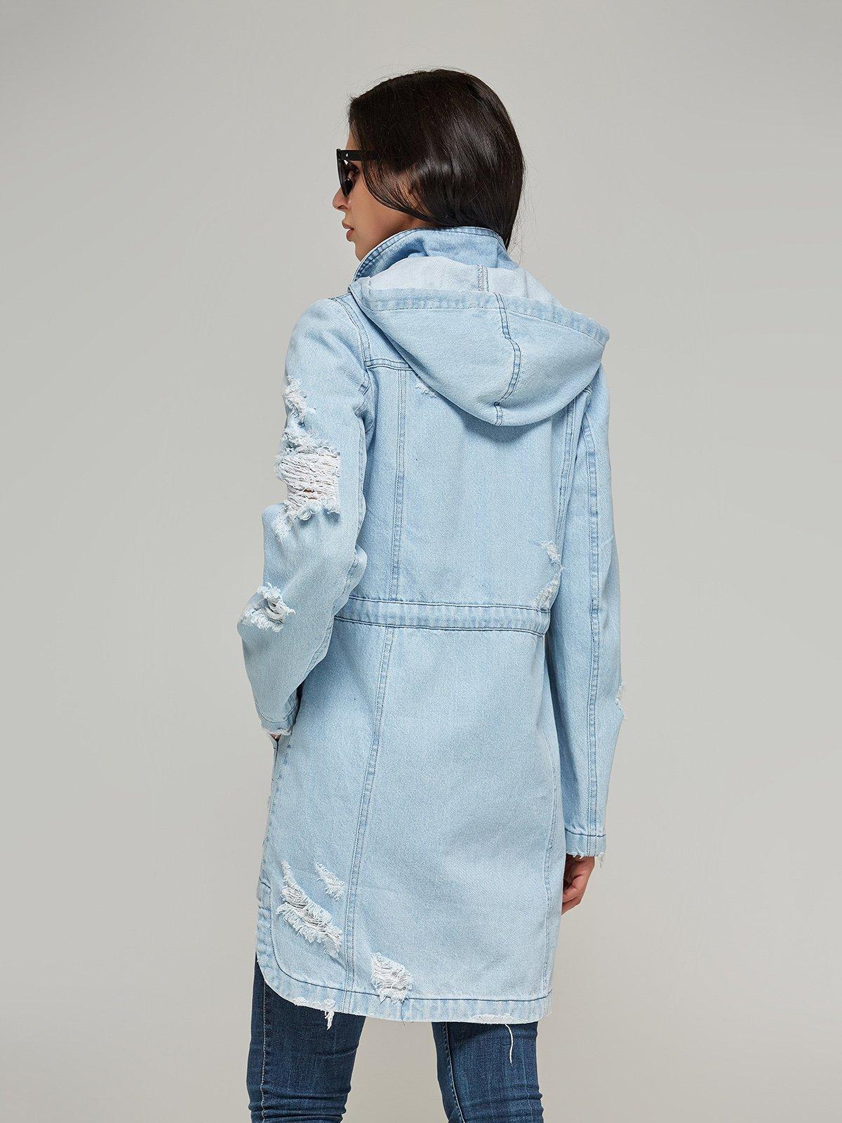Куртка блакитна   4093251   фото 2