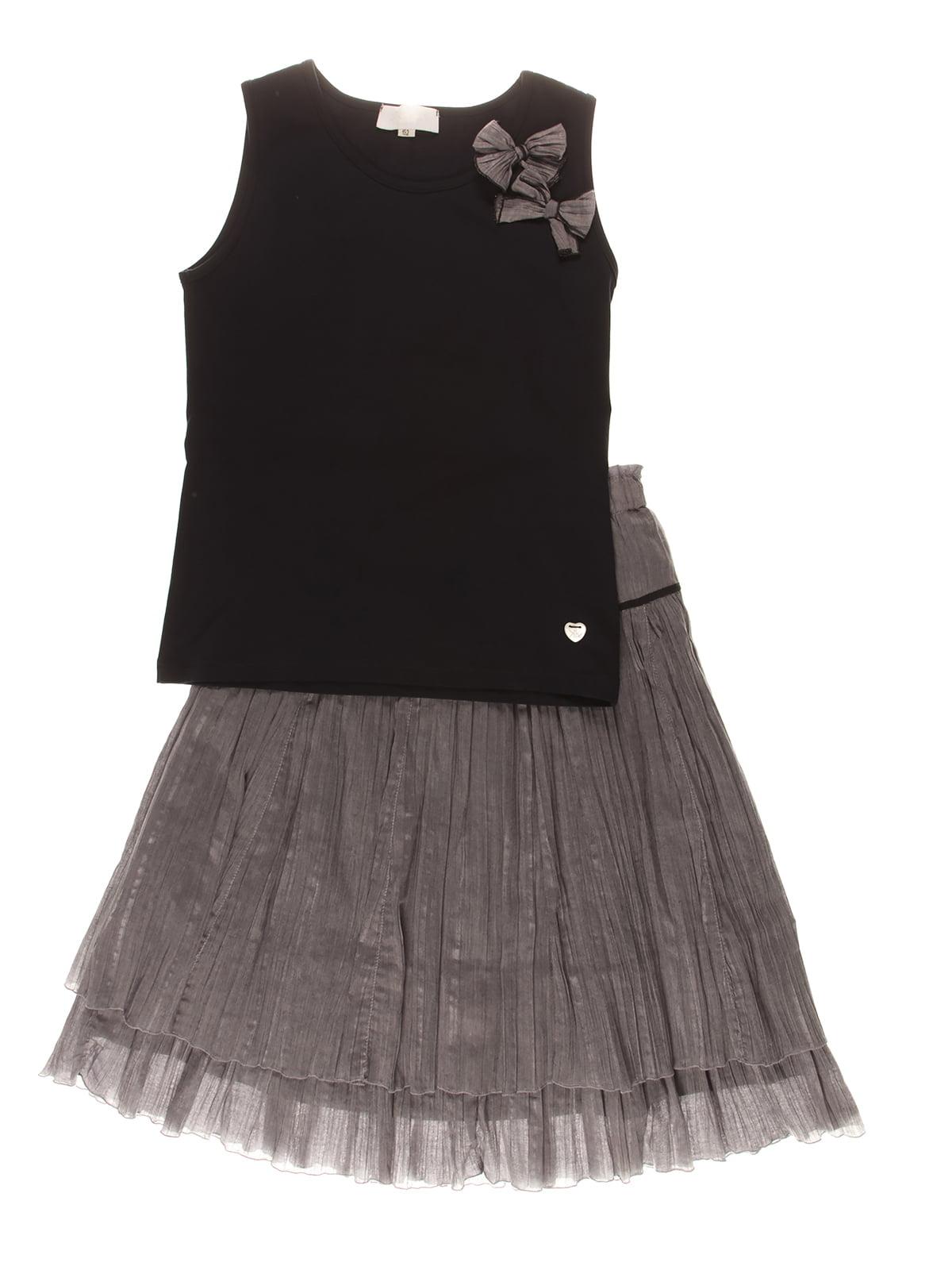 Костюм: юбка и майка   4064875