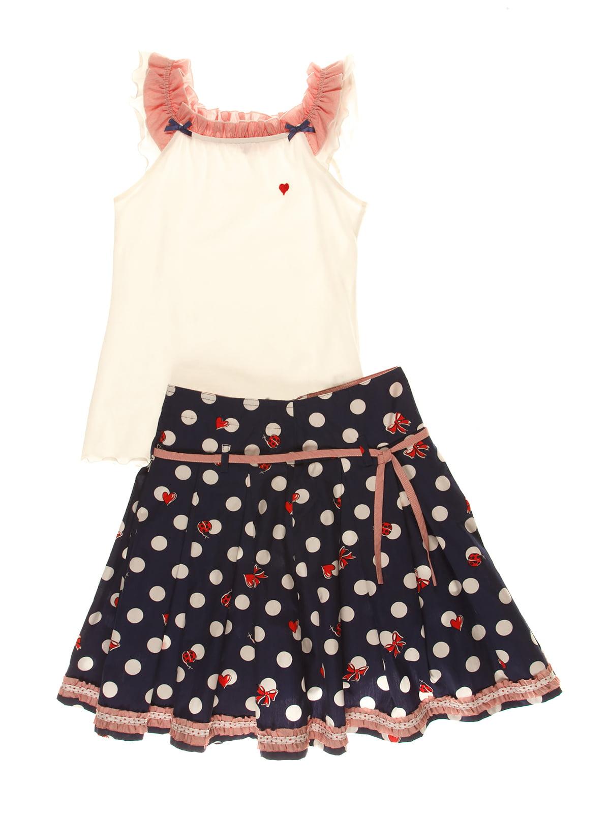 Костюм: юбка и майка   4064842