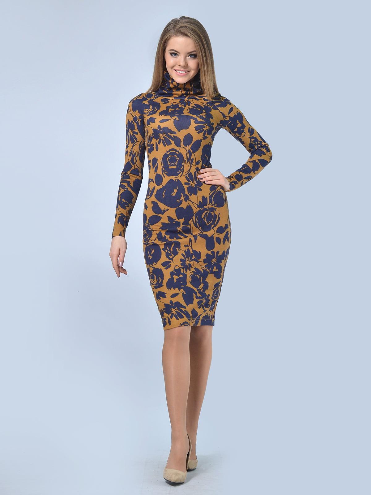 Платье в цветочный принт   4103016