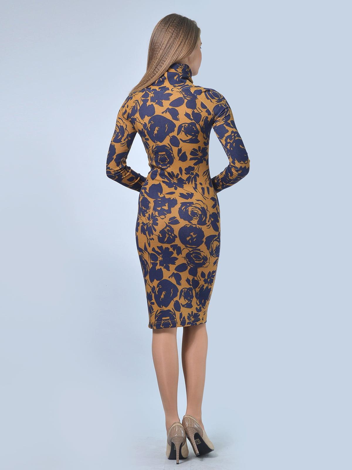 Платье в цветочный принт   4103016   фото 2