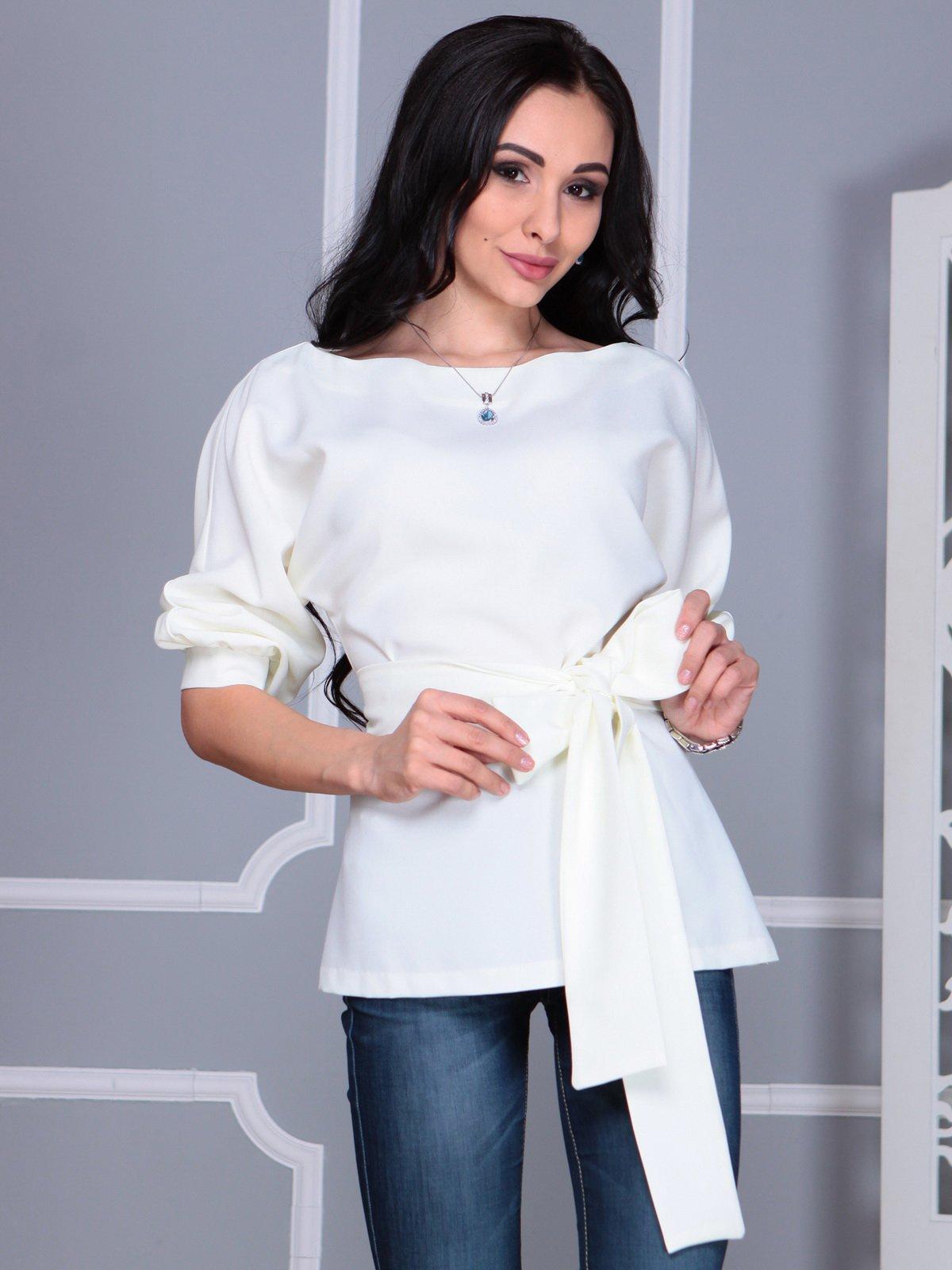 Блуза молочного цвета | 4109514