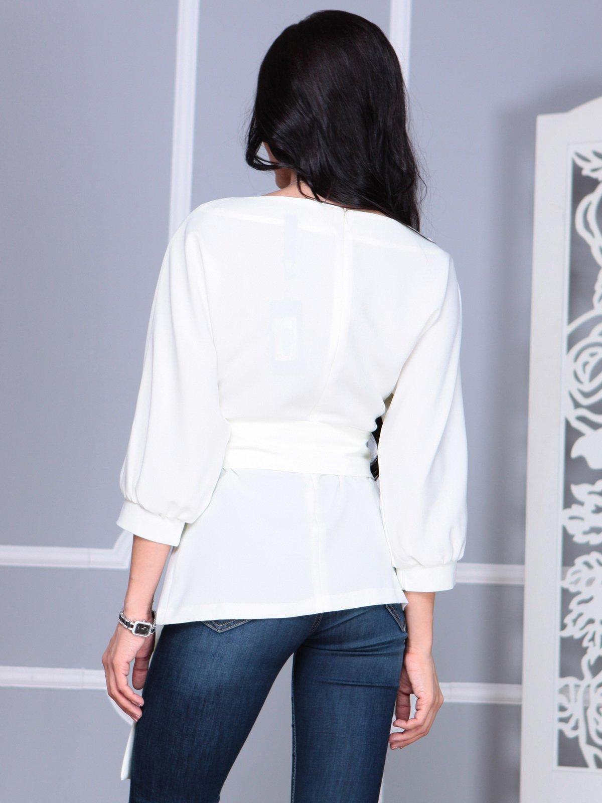 Блуза молочного цвета | 4109514 | фото 2