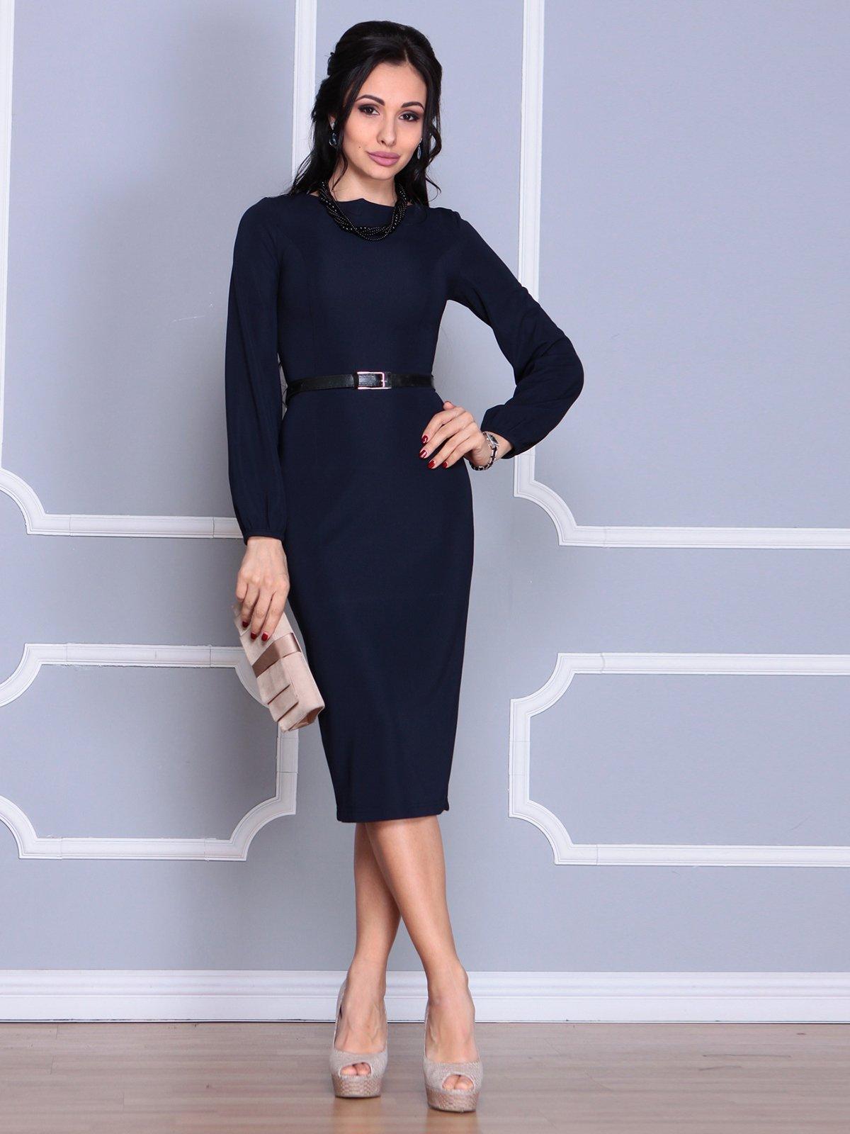 Сукня темно-синя | 4109548